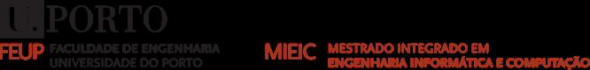 Mestrado Integrado em Engenharia Informática e de Computação Logo